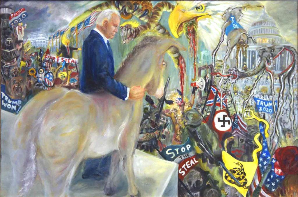 January 6 2021 Trump followers attack US Capital at Washington DC